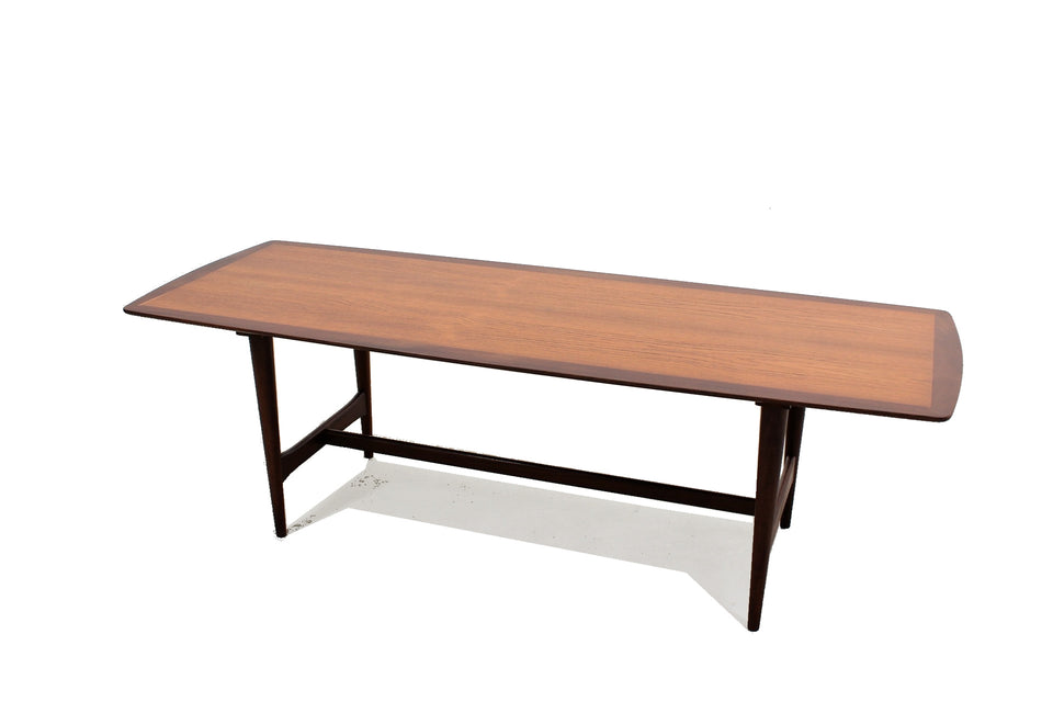 Scandinavian teak coffee table 1950s, tavolino salotto nordico teak scandinavo anni 50