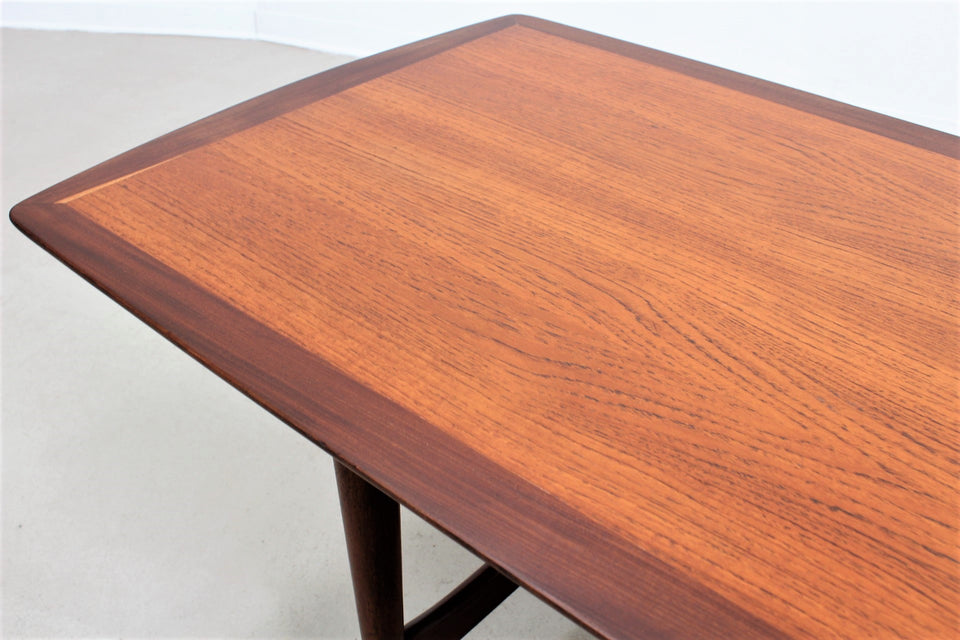 Scandinavian teak coffee table 1950s, tavolino salotto nordico teak scandinavoanni 50