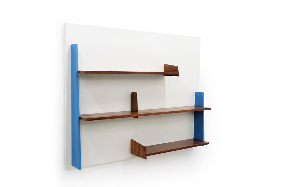 Italian wall shelves from 1950s