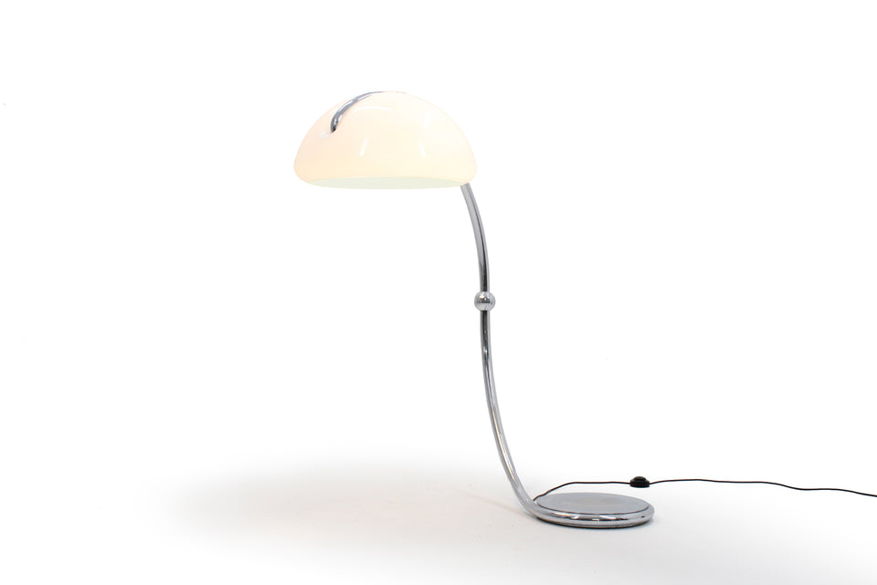 Serpente Floor Lamp by Elio Martinelli for Martinelli Luce , lampada Serpente di Elio Martinelli