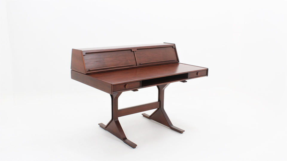 Writing desk by Gianfranco Frattini for Bernini 1957, Scrivania mod. 540 design G.FRATTINI per BERNINI