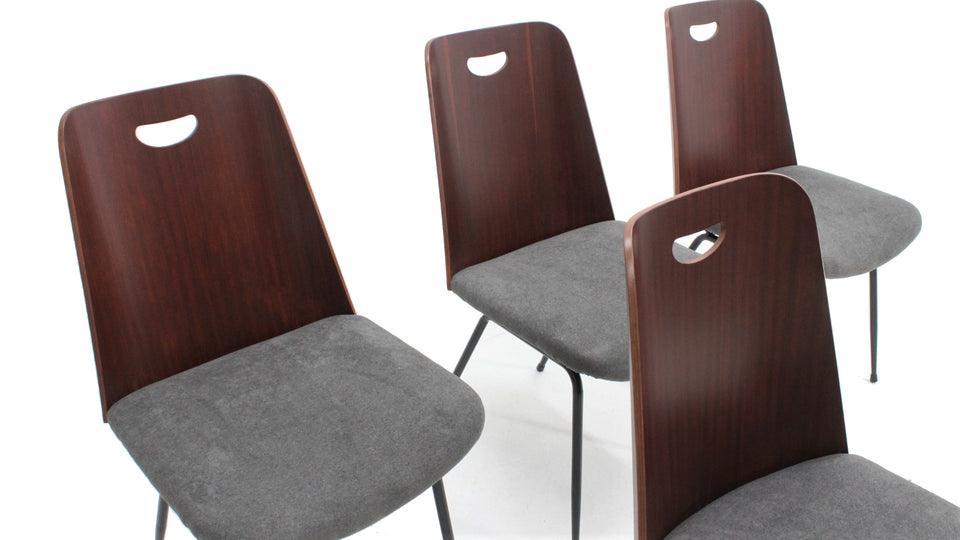 Du22 chairs by Gastone Rinaldi for Rima 1950s