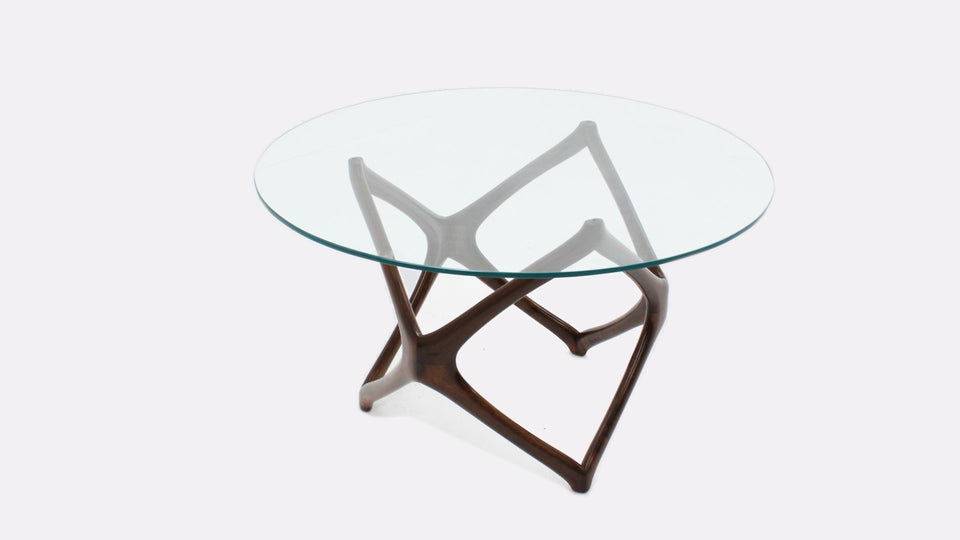 Pierluigi Giordani occasional coffee table 1950s, tavolino anni 50 design
