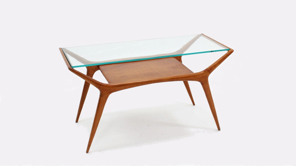 Italian mid century coffee table 1950s