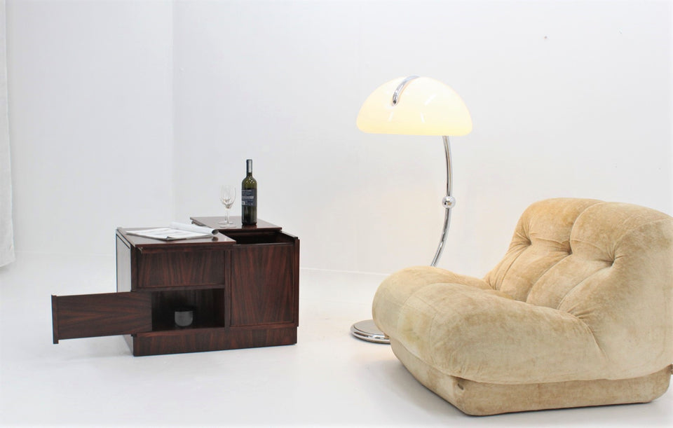 SORMANI trolley coffee table with bar 1960s