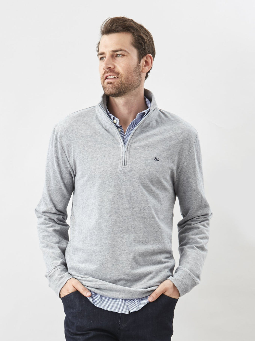 Pullover - The Q Zip Pullover