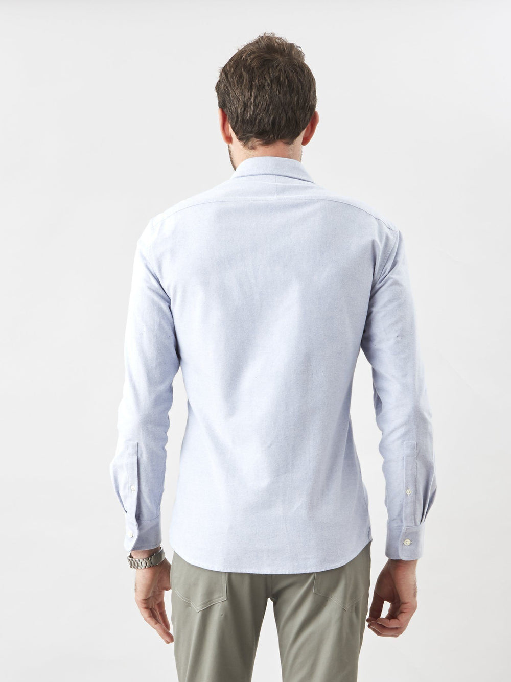 Shirt - Button Down- Oxford Light Blue