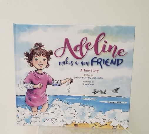 Children Book 'Adeline Makes a New Friend' (Hard Cover)