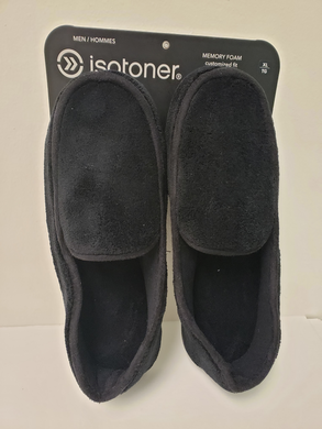 ISOTONER Slippers - Men's Microterry Moccasin
