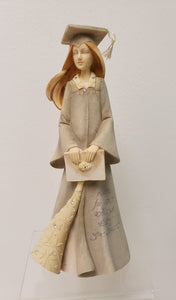 Enesco Figurine - Graduation Girl