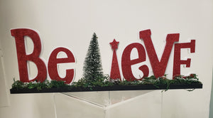 Holiday Decoration - Believe