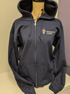 MH Logo Full Zip Hooded Sweatshirt