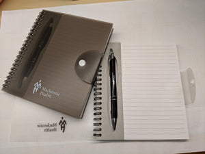 MH Logo Note Book