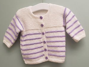 Baby Knitted Sweater - Size 6 - 7 Months