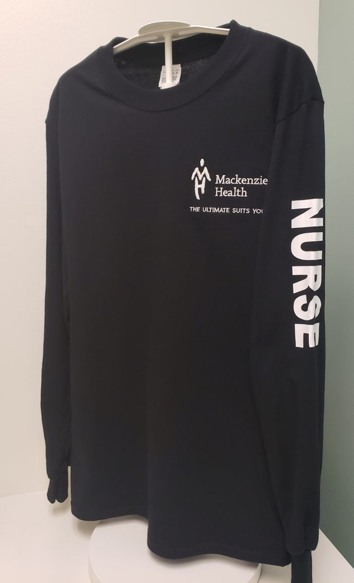 MH Logo Department Long Sleeves - NURSE