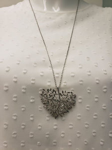 Carmel Necklace with Heart
