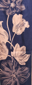Carmel Scarfs with Flower Prints