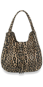Fresh Print Collection Handbag - Leopard Print