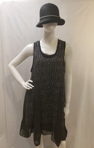 Sleeveless Dress PRINT/WOVEN