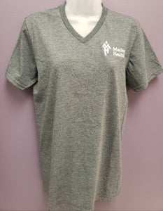 MH Logo T Shirt - V-Neck