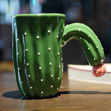 Load image into Gallery viewer, Green Cactus Mugs