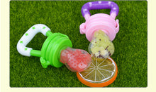 Load image into Gallery viewer, Silicone Pacifier Fruit Feeder - baby-tod