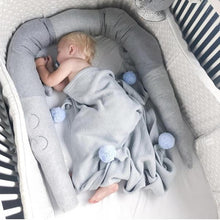 Load image into Gallery viewer, The Croco Plush Bumper - baby-tod