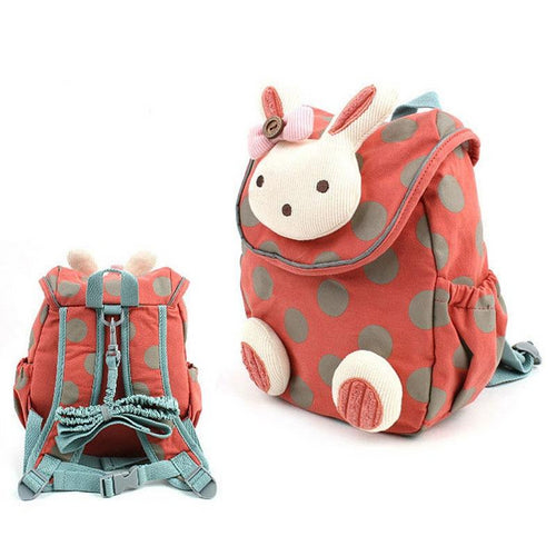 Rabbit Plush Backpack for Kindergarten - baby-tod