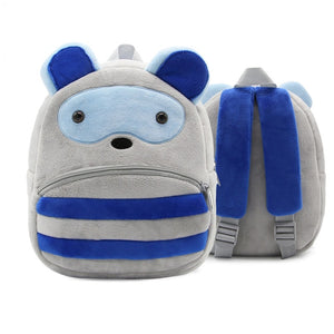 Cartoon Animal Plush Backpack - baby-tod