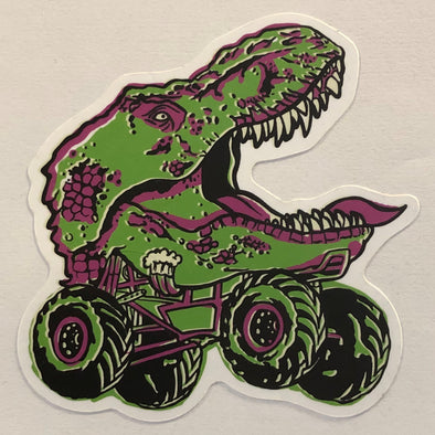 Monster Rex Sticker