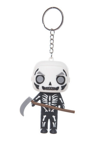 Fortnite Skull Trooper Key Ring Keychain Decor