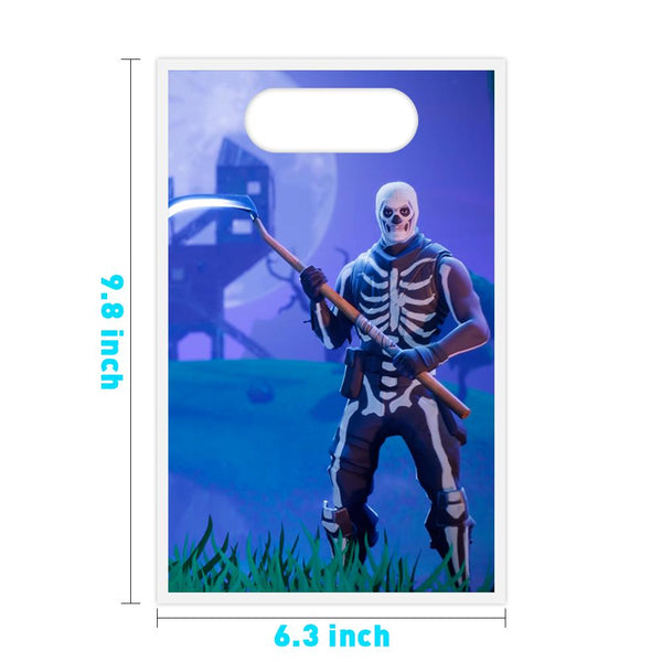 Fortnite 25 Pcs Trick or Treat Goodie Bags Candy Bags Favor Bags for Halloween Party