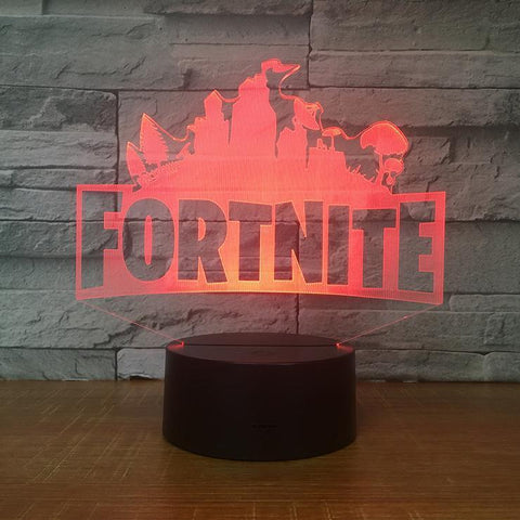 Fortnite LED Lamp Optical Led Desk Lighting Christmas Gift