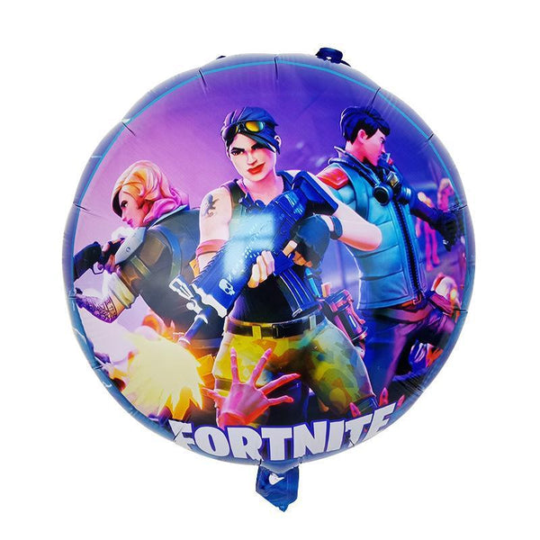 Fortnite Christmas Ballons Fortnite Party Supplies Gamer Decoration