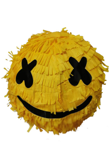 Fortnite DJ Marshmellow Round Yellow Pinata Party Decor