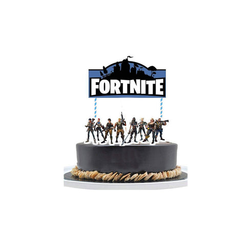 Fortnite Cake Topper Party Decor