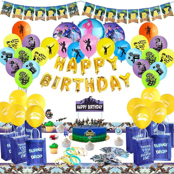 Fortnite Party Kit Birthday Party Supplies