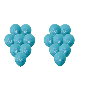 Fortnite V-Bucks Blue Balloons Party Supplies Gamer Party Decor
