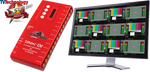 DD-12S DMON-12S: 12 Channel Multi-Viewer w/ HDMI & SDI Outputs for 3G/HD/SD