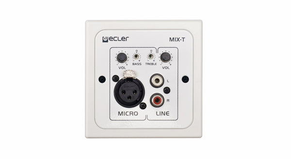 2 channel Wall micro-mixer