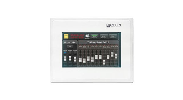 EclerNet touch-screen wall pane