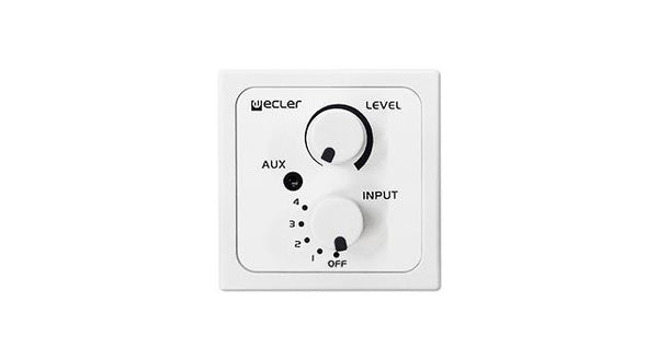 Remote wall panel control & input