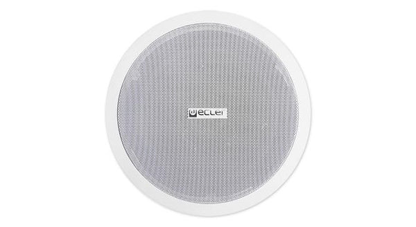 "Two ways ceiling speaker, 8"" woofer plus"