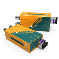3G-SDI fiber extender kit (coming with SFPs)