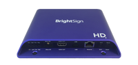 Brightsign H.265, Full HD, mainstream HTML5 player with expanded I/O package