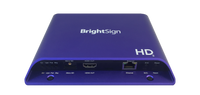 Brightsign H.265, Full HD, mainstream HTML5 player with standard I/O package