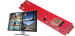 DD-MC-QUAD MC-DMON-QUAD: openGear 4 Channel Multi-viewer with SDI outputs for 3G/HD/SD -  Just Announced!