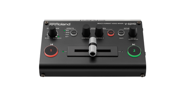 Roland V-02HD Multi-Format Video Mixer