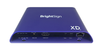 Brightsign H.265, True 4K, dual video decode, advanced HTML5 player with standard I/O package