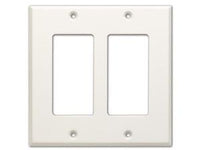 CP-2 Double Cover Plate - white